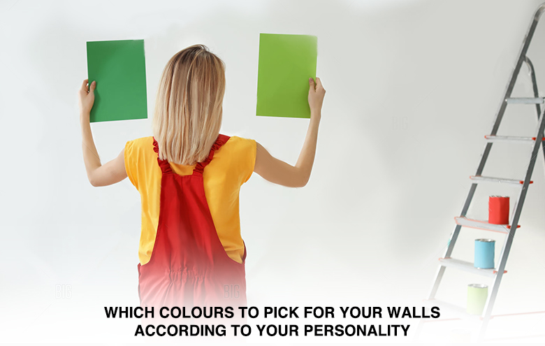 Which colours to pick for your walls according to your personality