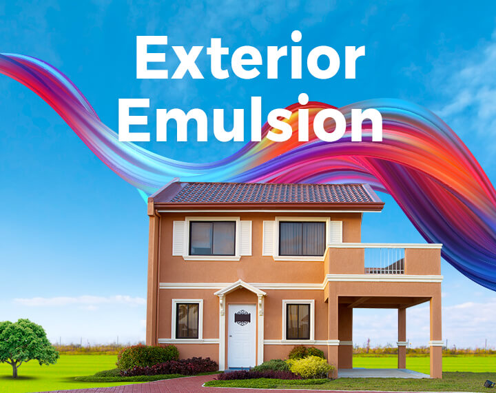 Exterior Emulsion Paints & Wall Colors, Exterior Home wall Painting India | British Paints