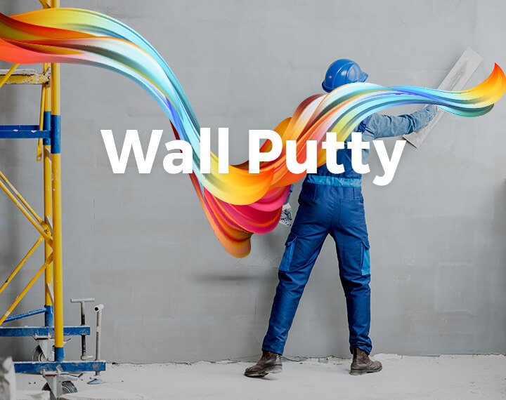 British Paints Wall Putty - Wall Care Putty, White Cement Based Putty Manufacturers in India