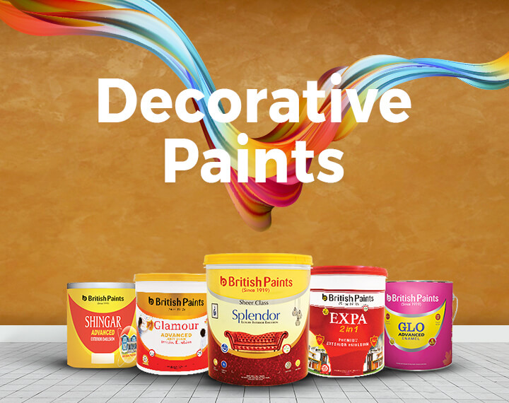 leading Decorative Paints Company, Paint Products, paints manufacturers, suppliers | British Paints