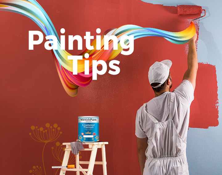 Wall Painting & Home Painting Tips | British Paints