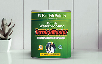 British WaterProofing Terrace Master